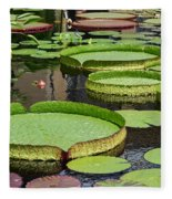 The Lily Pond Fleece Blanket