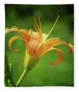 Lily Picture - Daylily Fleece Blanket