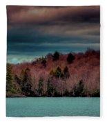 Limekiln Lake Fleece Blanket