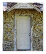 Limestone House Door Fleece Blanket