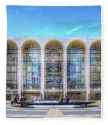 Lincoln Center Fleece Blanket