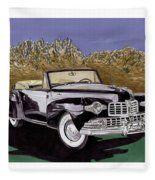 Lincoln Continental Mk I Fleece Blanket
