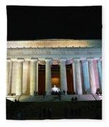 Lincoln Memorial - From Reflecting Pool Fleece Blanket