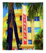 Lincoln Theatre - Sobe Fleece Blanket