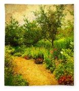 Linden Gardens 2 Fleece Blanket