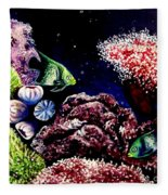 Lindsay's Aquarium Fleece Blanket