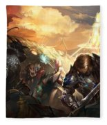 Lineage II Fleece Blanket