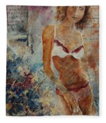 Lingerie 57 Fleece Blanket