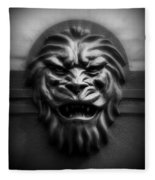 Lion Face Fleece Blanket