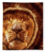 Lion Lady   -1 Fleece Blanket