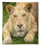 Lion Nature Wear Fleece Blanket