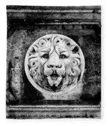 Lion Of Rome Fleece Blanket