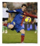 Lionel Messi Fleece Blanket