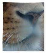 Lion's Breath Fleece Blanket