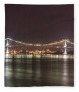 Lions Gate Bridge 2 Fleece Blanket