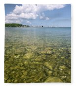 Lion's Head - Summer Afternoon On The Dock Fleece Blanket