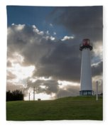 Lion's Lighthouse For Sight - 2 Fleece Blanket