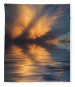 Liquid Cloud Fleece Blanket