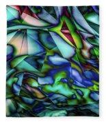 Liquid Geometric Abstract Fleece Blanket