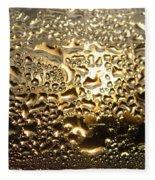 Liquid Gold Fleece Blanket