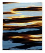 Liquid Setting Sun Fleece Blanket
