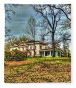 Liriodendron Mansion Fleece Blanket