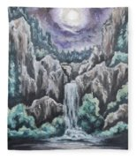 Listen To The Echoes II Fleece Blanket
