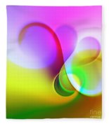 Listen To The Sound Of Colors -5- Fleece Blanket