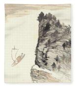 Literati Landscape Fleece Blanket