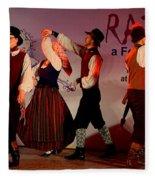 Lithuanian Folk Dance Fleece Blanket
