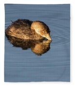 Little Brown Duck Fleece Blanket