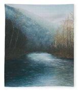Little Buffalo River Fleece Blanket