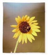 Little Bumble Bee Fleece Blanket