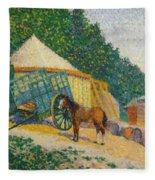 Little Circus Camp Fleece Blanket