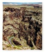Little Colorado River Fleece Blanket