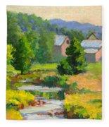 Little Creek Farm Fleece Blanket
