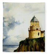 Little Cumbrae Lighthouse Fleece Blanket