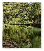 Little Cypress Creek Fleece Blanket