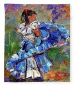 Little Dancer Fleece Blanket