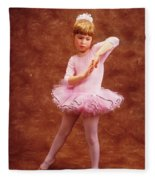 Little Dancer Fleece Blanket