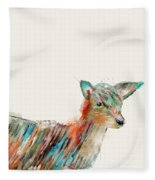 Little Deer Fleece Blanket