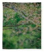 Little Diamonds In My Trees Fleece Blanket