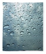 Little Drops Of Rain Fleece Blanket