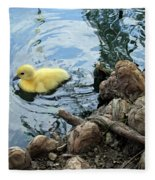 Little Ducky Fleece Blanket