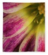 Little Flower Quadrant Fleece Blanket