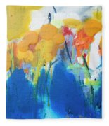 Little Garden 02 Fleece Blanket