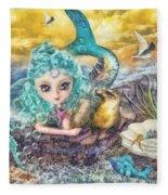 Little Mermaid Fleece Blanket