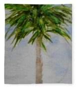 Little Palm Tree Fleece Blanket