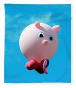Little Piggy Fleece Blanket