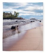 Little Presque Isle Fleece Blanket